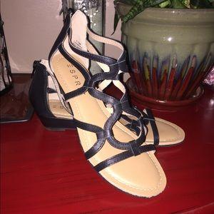 NWOT Esprit caged sandals!